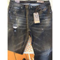 Jeans droit Remixx  pas cher