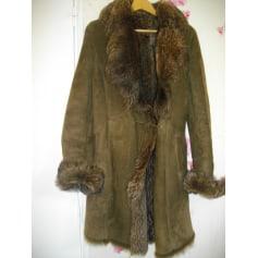 Manteau en fourrure Morizot  pas cher