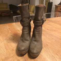 Bottines & low boots à talons Manas  pas cher