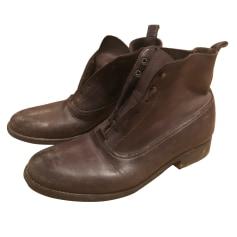Bottines & low boots plates Sartore  pas cher