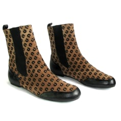 Bottines & low boots plates Charles Jourdan  pas cher