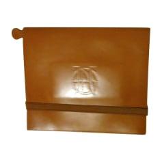 Sac pochette en cuir Jean Paul Gaultier  pas cher