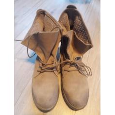 Bottines & low boots plates Creeks  pas cher