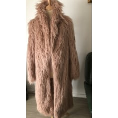 Manteau en fourrure Boohoo  pas cher