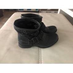 Santiags, bottines, low boots cowboy Bunker  pas cher
