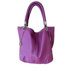 Leather Shoulder Bag Lancel French Flair