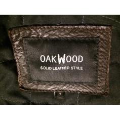 Blouson en cuir Oakwood  pas cher