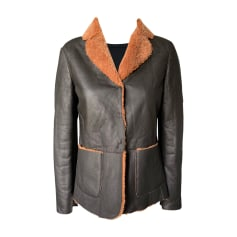 Manteau en cuir Henry Cotton's  pas cher