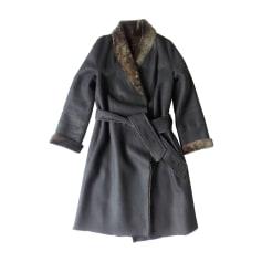 Manteau en cuir Sonia Rykiel  pas cher