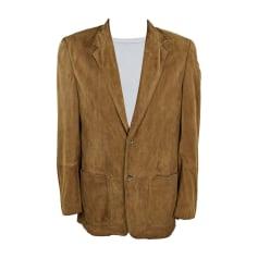 Leather Coat Hugo Boss