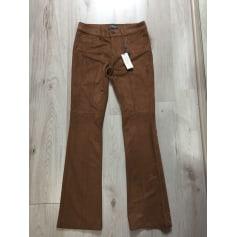 Pantalon droit Camomilla  pas cher