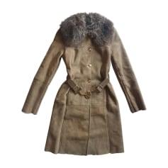 Manteau en cuir Gucci  pas cher