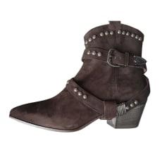 Santiags, bottines, low boots cowboy Twin-Set Simona Barbieri  pas cher