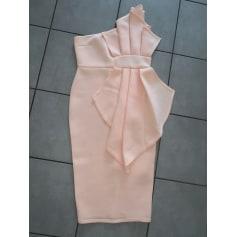 Robe mi-longue Pretty Little Thing  pas cher