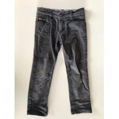Jeans droit Galeries Lafayette  pas cher