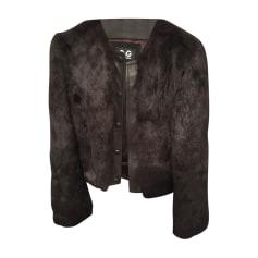 Blouson, veste en fourrure Dolce & Gabbana  pas cher