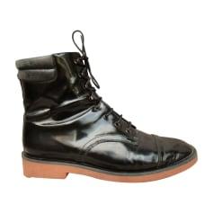 Bottines & low boots plates Robert Clergerie  pas cher