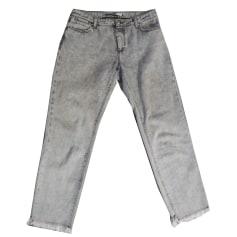 Jeans droit Max Mara  pas cher