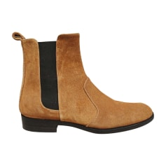 Bottines & low boots plates Michel Vivien  pas cher