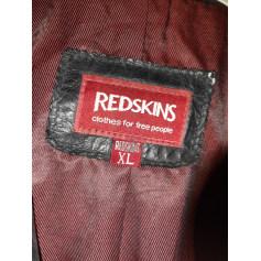 Manteau en cuir Redskins  pas cher