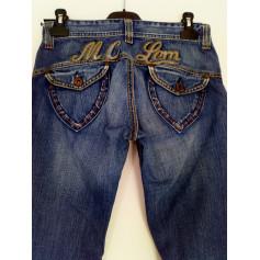 Jeans droit Mc Lem  pas cher