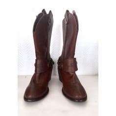 Santiags, bottes cowboy Levi's  pas cher