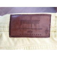 Pantalon droit Greenandpepper  pas cher