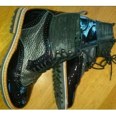 Bottines & low boots plates Regard  pas cher