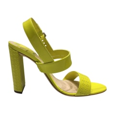 Escarpins à bouts ouverts Dior  pas cher