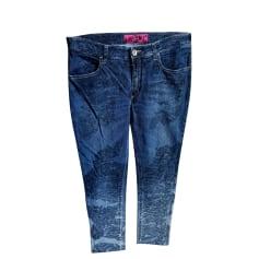 Jeans droit Save The Queen  pas cher