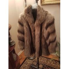 Manteau en fourrure Printemps  pas cher