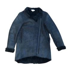 Manteau en cuir Helmut Lang  pas cher