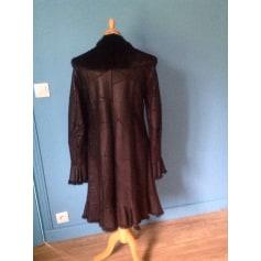Manteau en cuir Pellesimo  pas cher