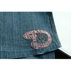 Jeans très evasé, pattes d'éléphant DKNY  pas cher