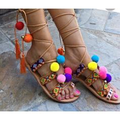 Sandales plates  Coco Perla  pas cher