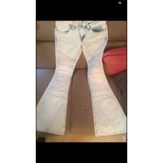 Jeans très evasé, patte d'éléphant Salsa  pas cher