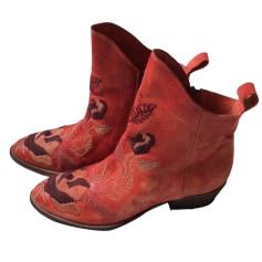 Cowboy Ankle Boots Elisa Cavaletti