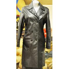 Manteau en cuir Conbipel  pas cher