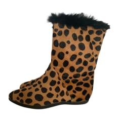 Bottines & low boots plates Walter Steiger  pas cher
