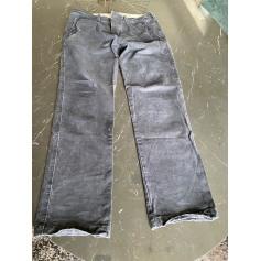 Pantalon droit Abercrombie & Fitch  pas cher