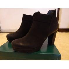 Bottines & low boots à talons Paul Green  pas cher