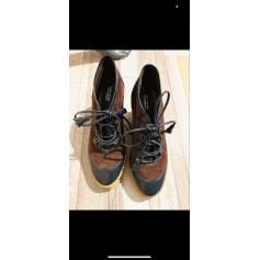 Bottines & low boots à compensés Comptoir Des Cotonniers  pas cher