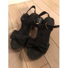 Sandales à talons Pieces  pas cher