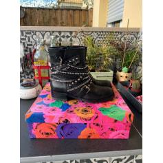 Bottines & low boots plates Beverly Feldman  pas cher