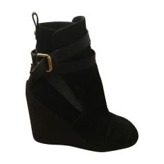 Bottines & low boots à compensés Louis Vuitton  pas cher