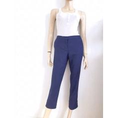 Pantalon slim, cigarette Diane Von Furstenberg  pas cher
