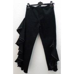 Pantalon très evasé, patte d'éléphant Asos  pas cher