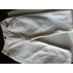 Pants KENZO White, off-white, ecru