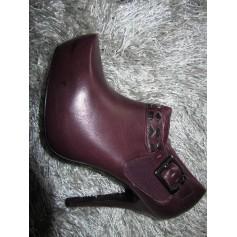Bottines & low boots à talons SAN MARINA Rouge, bordeaux