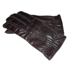 Gloves FAÇONNABLE Brown